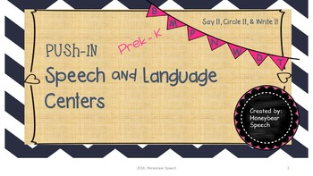 Push-In Speech and Language Centers