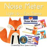 Push-Light Noise Meter - Fox Theme