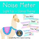 Push-Light Noise Meter - Llama Theme
