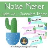 Push-Light Noise Meter - Succulent Theme
