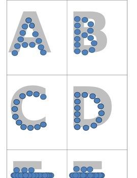Push Pin Capital ABC's (Thumb Tack)