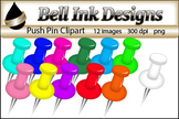 Push Pin Clipart