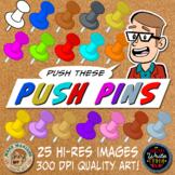 Push Pin Clipart