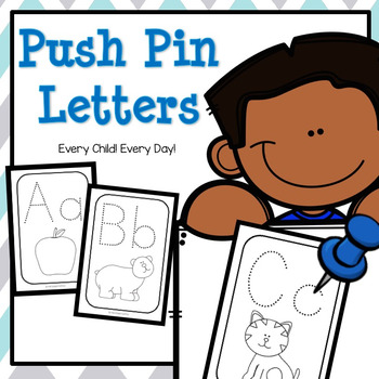 Push Pin Letters