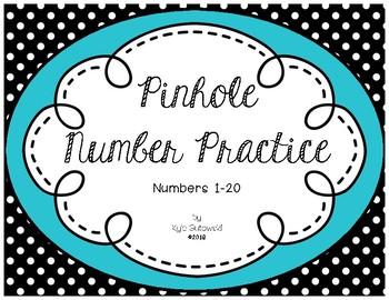 Push Pin Number Practice