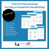Push Pin Poke Drawing