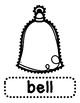 Push Pin Poke No Prep Printables for Christmas - 16 Pictures & Word Boxes
