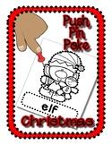 Push Pin Poke No Prep Printables for Christmas - 16 Pictur