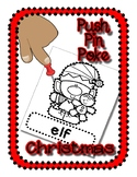 Push Pin Poke No Prep Printables for Christmas - 16 Pictur