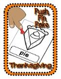 Push Pin Poke No Prep Printables for Thanksgiving - 18 Pic