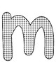 Push Pin Poke Sheets for Letter M - Fine Motor for the Alphabet
