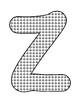 Push Pin Poke Sheets for Letter Z - Fine Motor for the Alphabet
