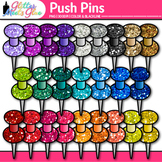 Push Pins Clip Art | School Clipart for Teachers