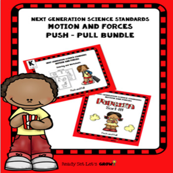 Push Pull Bundle: Sort- IT!  & Coloring Activity Book (NGSS K-PS2-1)