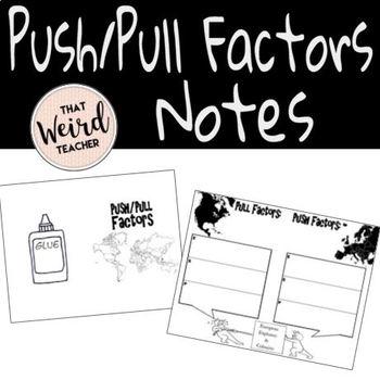 Push/Pull Factors: Reasons for Exploration