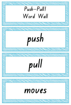 Push - Pull Physical Sciences