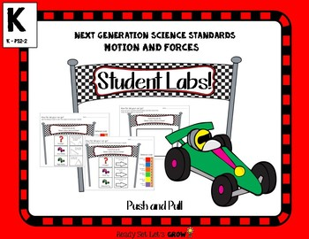 Push Pull: Student Labs  (NGSS K-PS2-2)