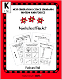 Push Pull: Worksheet Packet  (NGSS K-PS2-1)