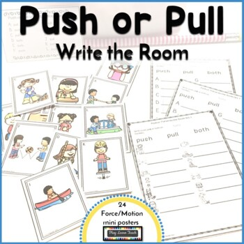 Push Pull Write the Room