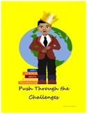 Push Through the Challenges Poster