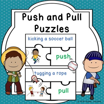 Push and Pull Forces Causing Movement Puzzles