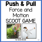 Force and Motion SCOOT Game NGSS 2-PS1 2-PS1-1 2-PS1-2 2-P
