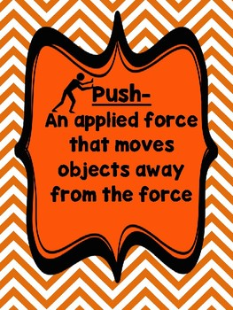 Push and Pull:  Applied Forces