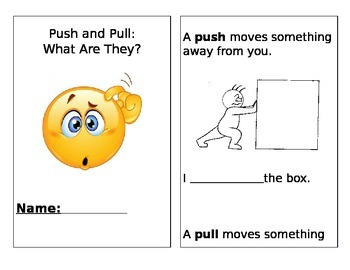 Push and Pull Book