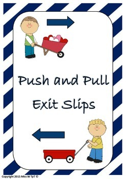Push and Pull Exit Slips