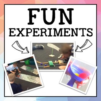 Push and Pull Experiments and Resources - Friction, Tea Bag Rockets + more!