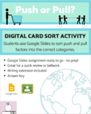 Push and Pull Factors Digital Card Sort - Google Slides Activity