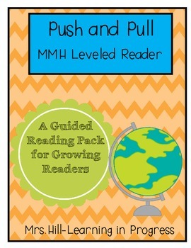 Push and Pull - Guided Reading for Growing Readers FREEBIE