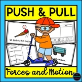 Push and Pull Science {Experiments, Activities, Reader and