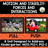 Push and Pull:  Kindergarten NGSS Motion and Stabililty