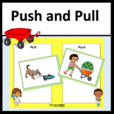 Push and Pull Kindergarten Unit NGSS K-PS2-1 and K-PS2-2