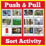 Push and Pull Sort Activity