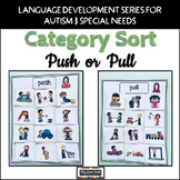 Push and Pull Sort for Autism Early Childhood Special Education