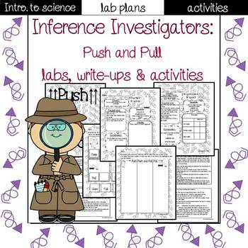 Push and Pull lab sheets and activities