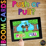 Push or Pull BOOM CARDS™ Force and Motion Science Digital Learning Activity