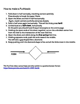 Pushbook of Geometric Solids