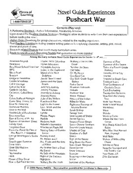 Pushcart War Literature Guide