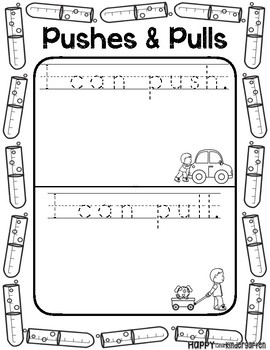 Pushes and Pulls: Science Mini Unit