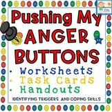 Pushing My Anger Buttons: Worksheets and Task Cards