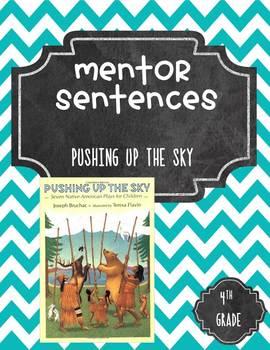 Pushing Up the Sky Mentor Sentences