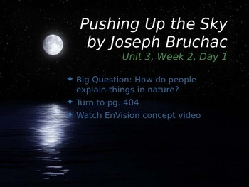Pushing Up the Sky PowerPoint Reading Street 3.3.2