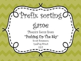 Pushing Up the Sky Prefix Game