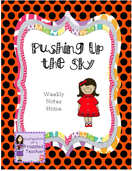 Pushing Up the Sky Weekly Take Home Letters (Scott Foresma