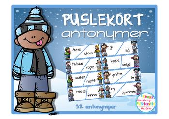 Puslekort Antonymer (BM)