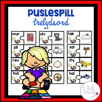 Puslespill - Trelydsord