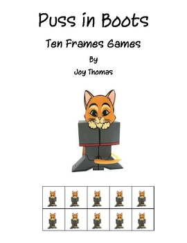 Puss in Boots Ten Frames Games